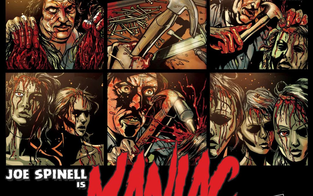 Exclusive preview pages from VHS Comics' MANIAC and LASERBLAST